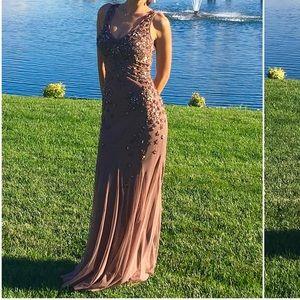 Sidon Mattox Evening gown